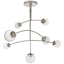 Prescott 7-Light Mobile Chandelier