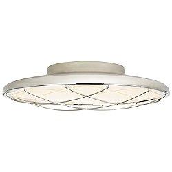 Dot Caged Flush Mount Ceiling Light