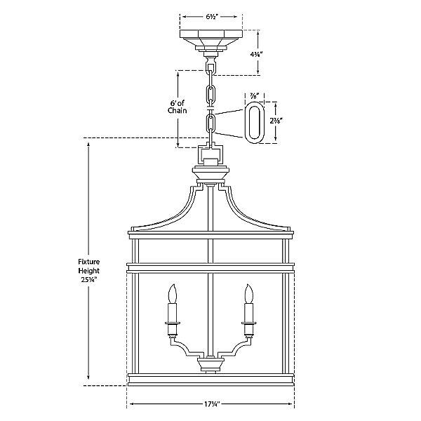 Mykonos Lantern Pendant Light