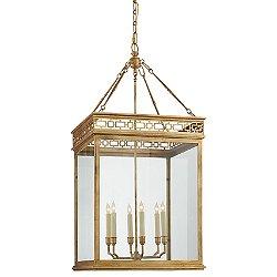 Newcastel Fret Lantern Pendant Light