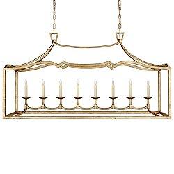 Fancy Darlana 8-Light Linear Suspension Light