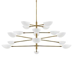 Graphic Grande 4-Tier Chandelier