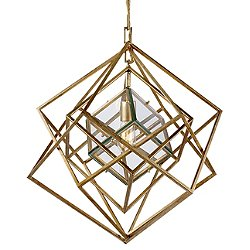 Cubist Chandelier (Gild/Small) - OPEN BOX RETURN