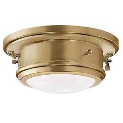 Marine Port Flush Mount Ceiling Light