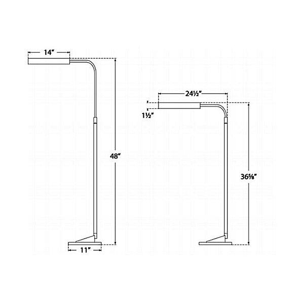 Austin Adjustable Floor Lamp