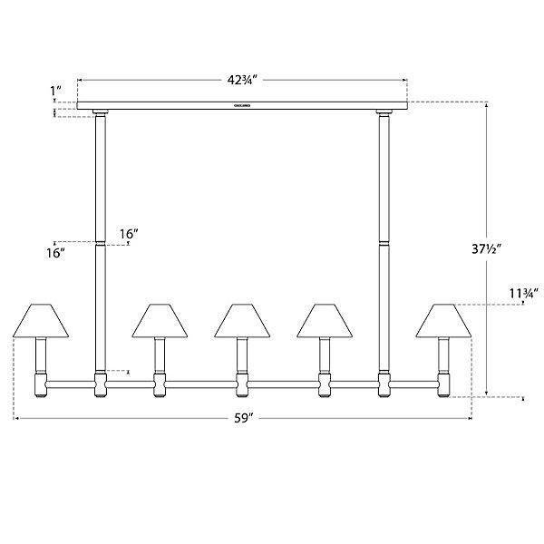 Barrett Linear Suspension Light