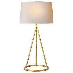 Nina Tapered Table Lamp (Gilded Iron) - OPEN BOX RETURN