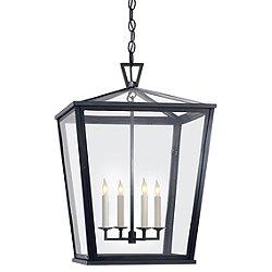 Darlana Outdoor Hanging Lantern (Large) - OPEN BOX RETURN