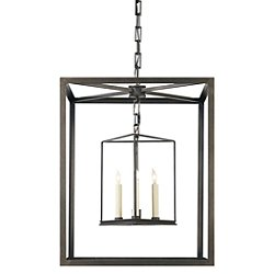 Osborne Lantern Pendant (Aged Iron) - OPEN BOX RETURN