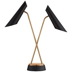 Franca Double Pivoting Table Lamp