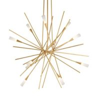 Gold Sputnik Chandeliers