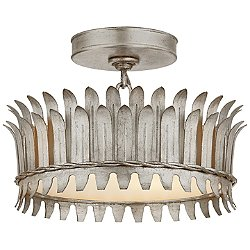 Leslie Semi-Flush Mount Ceiling Light