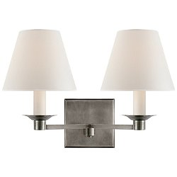 Evans Double Arm Wall Sconce