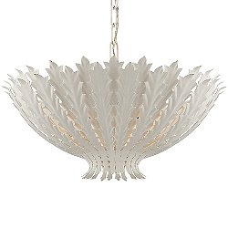 Hampton Pendant (Plaster White/Large) - OPEN BOX RETURN