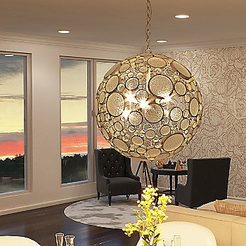 Zen Gold with Champagne / illuminated