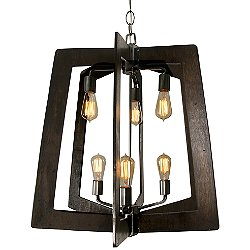 Lofty 2-Tier Chandelier