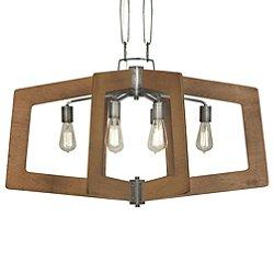 Lofty Oval Linear Pendant Light