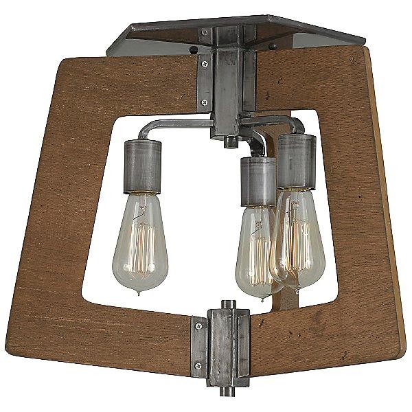 Lofty 3 Light Semi-Flush Mount Ceiling Light