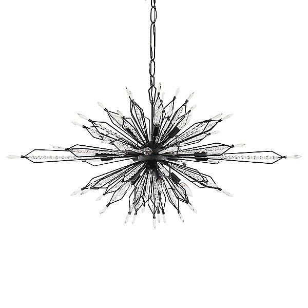 Orbital Oval Linear Suspension Light