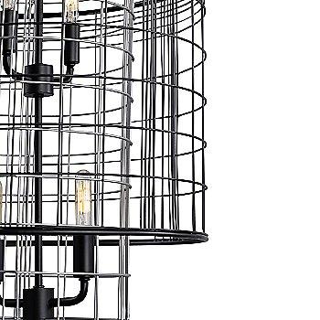 Vivienne 4-Light Tall Pendant / Detail view