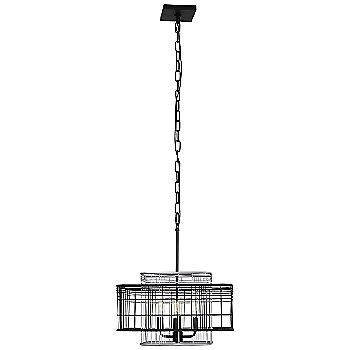 Vivienne 4-Light Square Pendant