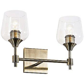 Antique Brass finish / 2 Light