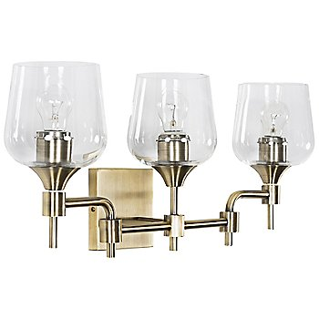 Antique Brass finish / 3 Light