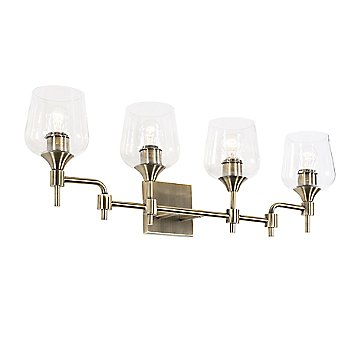 Antique Brass finish / 4 Light