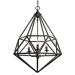 Facet 3 Light Pendant Light