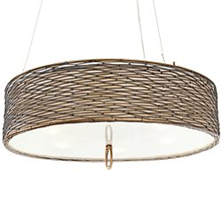 Flow Drum Shade Pendant Light