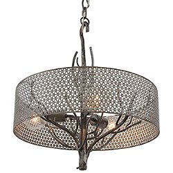 Treefold 3 Light Pendant Light
