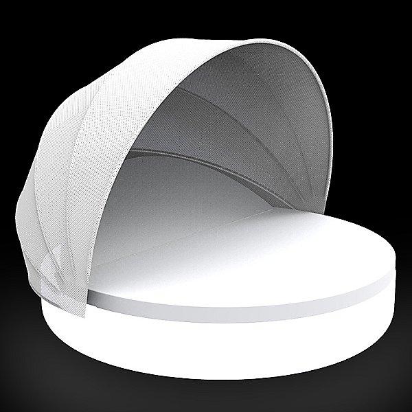 Ulm Reclining Daybed with folding sunroof Illuminated