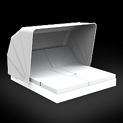 Vela 4 Reclining Daybed with folding sunroof Illuminated