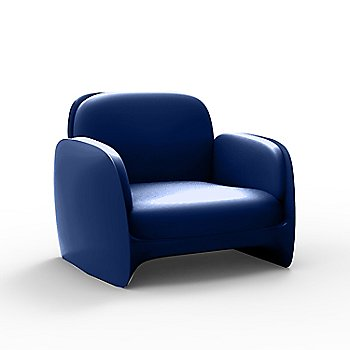 Pezzettina Lounge Chair in Navy, Lacquered