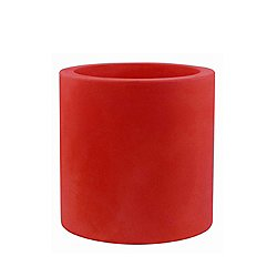 Cylinder Planter by Vondom (20 Inch/Red) - OPEN BOX RETURN