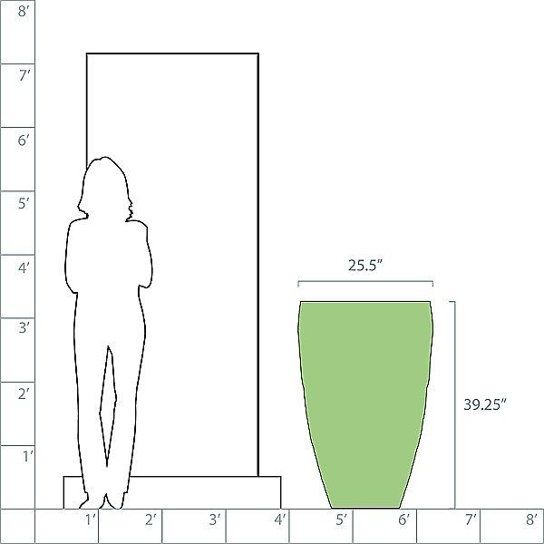 Vases Planter, Tall