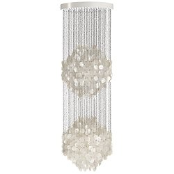 Fun Mother Of Pearl Multi-Light Pendant