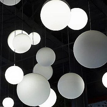 Globo Suspension / illuminated