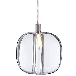 Cubie Pendant by Viso (Clear/LED) - OPEN BOX RETURN