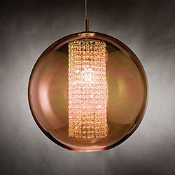 Ulee Suspension Light (16 Inch/Copper) - OPEN BOX RETURN