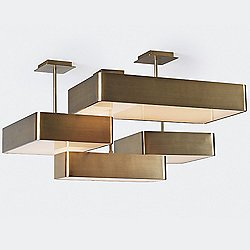 Briggs 4-Light LED Ceiling Light (Champagne)-OPEN BOX RETURN