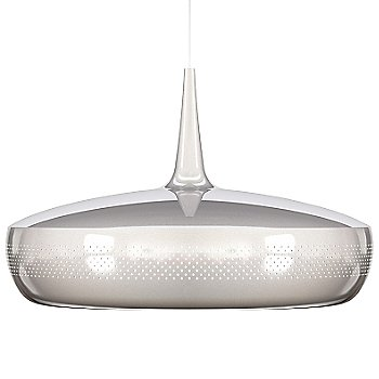 Shown in Polished Steel finish, White