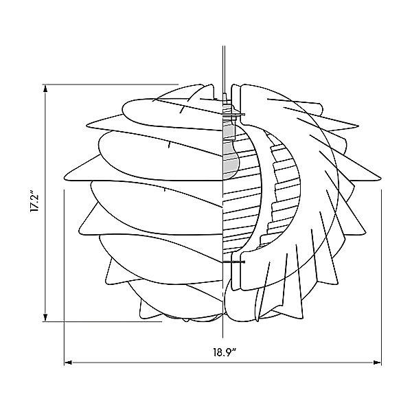 Carmina Pendant