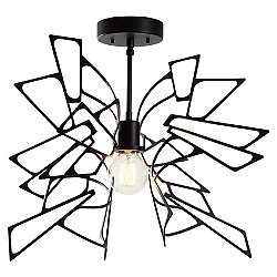 Monarch Semi Flush Ceiling Light