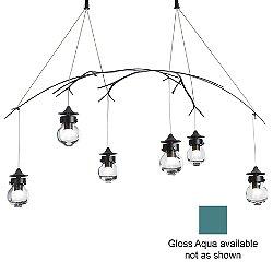 Kiwi Pendant (Gloss Aqua/Long) - OPEN BOX RETURN