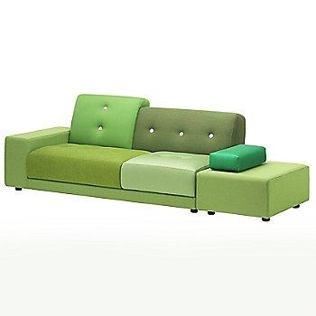 Shown in Green, Armrest Right/Sitting Left