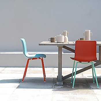 HAL Tube Chair, Collection, in use
