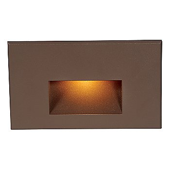 Shown lit in Bronze on Brass finish, Amber