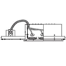 MR16 Low Voltage Multiple Spot Triple Light Housing - MR-316HS