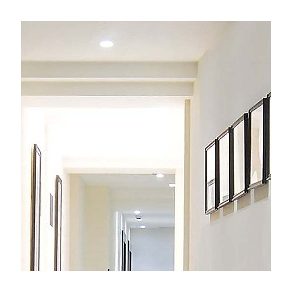 Aether Square Wall Wash Trim with LED Light Engine